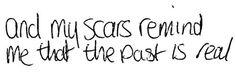 """scars"" by papa roach"