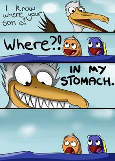 WHERE'S NEMO?! - funny pictures - funny photos - funny images - funny pics - funny quotes - #lol #humor #funny