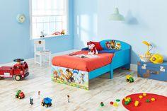 Dormitorio infantil Patrulla Canina, perfecta para su primera habitación infantil #bainba #pawpatrol