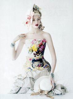 Tim Walker's 'Porcelain Doll' Editorial In US Vogue