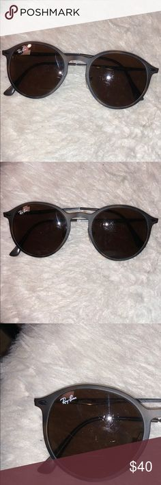 a25d5653b0f RayBan Sunglasses Brown RayBan sunglasses with no case