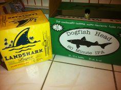 Shark week party beer
