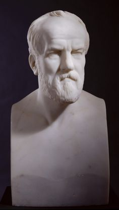 Bust of Henry Weekes, R.A., 1872 Marble, made by Charles Summers.  622 X 342 mm. Given by Miss Margaret Thomas, 1880 03/1926  Photo: R.A./Paul Highnam © Royal Academy of Arts, London