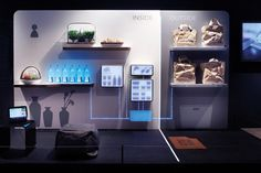 Fresh Connect – Food Conservation Appliances by Whirlpool Global Consumer Design Interactive Exhibition, Interactive Walls, Interactive Installation, Exhibition Booth, Exhibition Space, Exhibition Stands, Beer Factory, Innovation Lab, Museum Displays