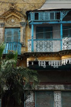 Detail of a building facade in Old Dhaka | Archnet