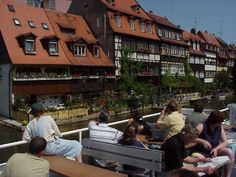 went on this same boat tour down the river when i was 12 and I can still remember how beautiful all of the homes were!! Bamberg, Germany