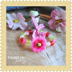 Ik heb iets leuks ontdekt! Armbandje elastisch cute bij Juuntje juwelzz in stad.nl. Echt de moeite waard.