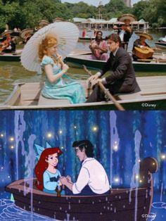 Enchanted vs The Little Mermaid