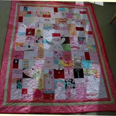 Baby clothes Quilt I want to make