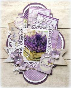 Joy! Crafts papierblok met stansvellen   6011/0383 La Vie est Belle Lavender http://www.papercraft.nl/nl/joy-crafts-designpapier/14596-joy-crafts-papier-blok-lavendel.html