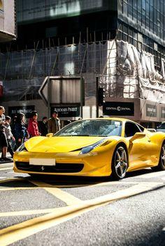 Ferrari 458.  Car of the Day: 25 July 2015.