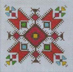 Creative Embroidery, Folk Embroidery, Cross Stitch Embroidery, Embroidery Patterns, Cross Stitch Patterns, Tatting Patterns Free, Blackwork, Bargello, Cross Stitching