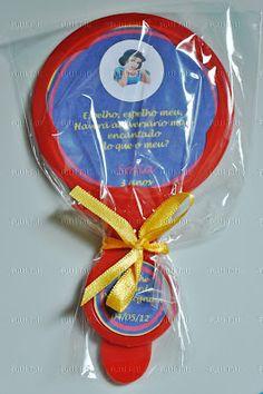 Snow White invitation  Convite para a festa da Branca de Neve
