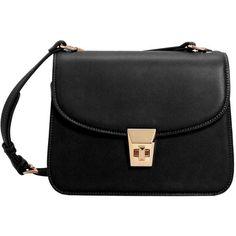 Pebbled Cross-Body Bag (€34) ❤ liked on Polyvore featuring bags, handbags, shoulder bags, purses, bolsas, crossbody purse, long strap purse, mango handbags, handbag purse and long strap handbags