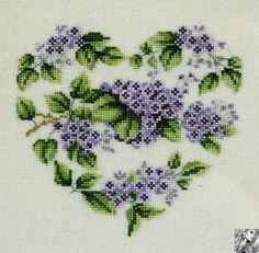 View album on Yandex. Cross Stitching, Cross Stitch Embroidery, Embroidery Patterns, Cross Stitch Patterns, Cross Stitch Heart, Cross Stitch Flowers, Crochet Bedspread, Valentines Day Decorations, Amazing Flowers