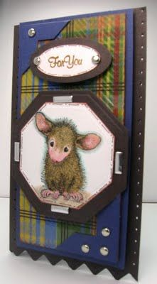 Cards by America: It's a House Mouse Gift Card Holder