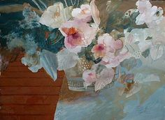 Dorothy Ganek: Still Life #7 (22x30 watercolor) from Renjeau Galleries…