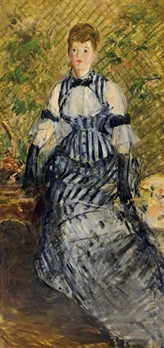 Woman in Evening Dress by Édouard Manet, Guggenheim Museum Pierre Auguste Renoir, Georges Seurat, Claude Monet, Edouard Manet Paintings, Museums In Nyc, French Paintings, Beautiful Paintings, Mary Cassatt, Camille Pissarro