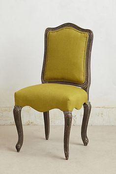 Linen Beatrix Dining Chair - anthropologie.com
