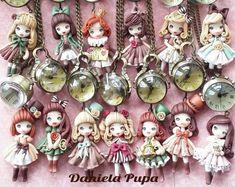 Милые полимерные украшения от Daniella Pupa - Ярмарка Мастеров - ручная работа, handmade