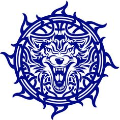 Celtic Wolf-depicts strength, courage, stamina, intelligence and fierceness.