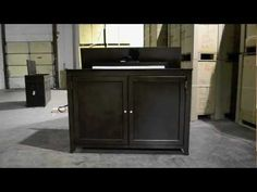 tv lift cabinet instruction diy playlist create me pinterest living rooms bedrooms and woods