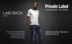 GA Creative Brands' Private Label Men's Work-Fashion Specialists - home of Jonathan D and Cutty. Designed to provide our clients with a top-notch clothing manufacturing service, GA Creative Brands works with you to design and create your very own label. Fashion Days, Work Fashion, Creative Brands, Private Label, Create, Clothing, Top, Design, Tall Clothing