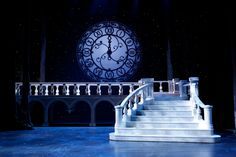The Broadway Theatre. Scenic design by Anna Louizos. Set Theatre, Set Design Theatre, Broadway Theatre, Rodgers And Hammerstein's Cinderella, Cinderella Broadway, Stage Lighting Design, Stage Set Design, Cinderella Quinceanera Themes, Scenic Design
