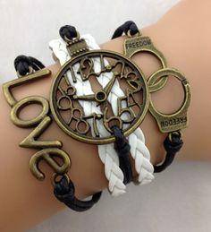 Handcuffs, Watch, Love ModWrap Bracelet - www.gomodestly.com