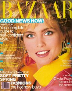 Bazaar January 1988 - Kim Alexis