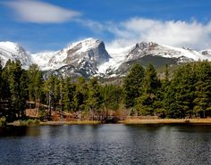 Sprague Lake by Mike Oberg