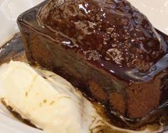 Sticky Parkin with Treacle toffee sauce...... Yum!