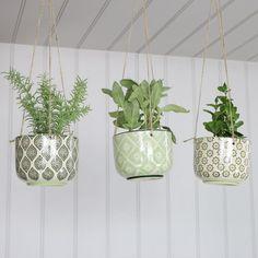 Set of 3 Decorative Hanging Planters #planter #houseplants #plants #myhome #interior #interiordecor #interiordesign #designideas #decor #homeware #homedecor #interiors #myinterior #houseplants #cactus #plants #boho #rustic #flat