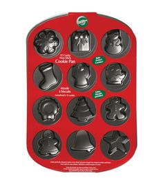 Mini Cookie Pan-12 Cavity Holiday