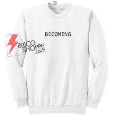 Sell Becoming Sweatshirt Size On Sale Supreme Shirt, Sweatshirt Dress, Sweatshirts, Sweaters, Fashion, Moda, Supreme T Shirt, Fashion Styles, Trainers