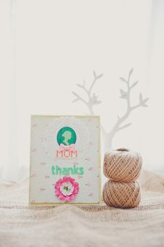Thank you card for mom by evelynpy