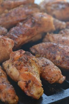 Crispy Chicken Wings on the Big Green Egg | Necessary Indulgences