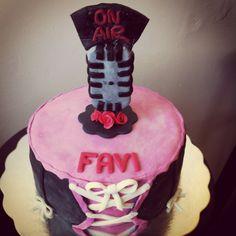 Radio cake / torta locutora