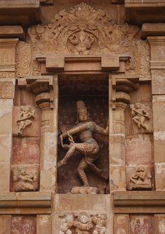Carving Of Dacing Shiva (Nataraja) On The Wall Of The Brihadishwara Temple, Thanjavur,india | Flickr - Photo Sharing!
