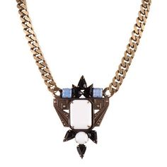 #bold #deco #necklace