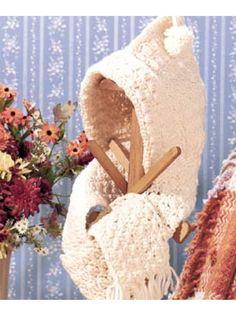 Crochet for Babies & Children - Hooded Scarf