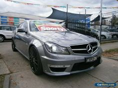 2012 Mercedes-Benz C63 W204 MY12 AMG Metallic Grey Automatic 7sp A Coupe #mercedesbenz #c63 #forsale #australia