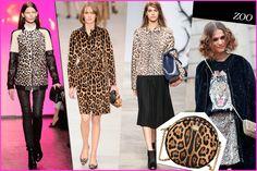 Leopard lust ~ http://www.grazia.it/moda/tendenze-moda/trend-autunno-inverno-2013-14-tartan