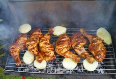Proof Of The Pudding, Grill Party, Bbq Rub, Tandoori Chicken, Bacon, Food And Drink, Ethnic Recipes, Healthy Nutrition, Fimo
