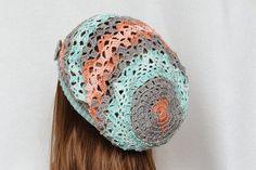 Womens Hats Crochet Hat Slouchy Hat Slouchy by PrettyCrochetForYou