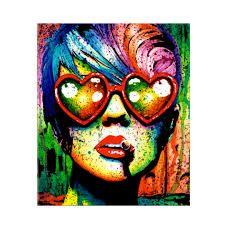 Tableau Pop Art, Love Art, Halloween Face Makeup, Photos, Glasses, Gallery, Art Art, Fictional Characters, Cadre Photo