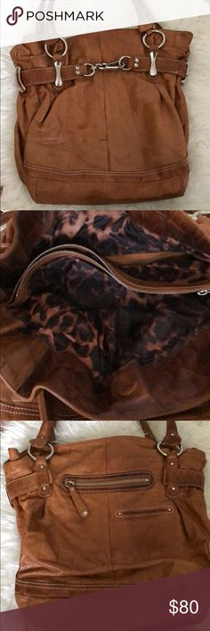 B makowsky purse A few stains still looks good Bmakowsky Bags Shoulder Bags