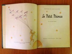 Le Petit Prince (1947 , 6th edition) Antoin de Saint-Exupéry, Reynal & Hitchcock,  New York