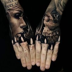 Hand tattoo by Jack Connolly #Tattooartists