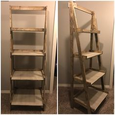 Ana White Painters Ladder Shelf Home Projects Furniture Diy Wood